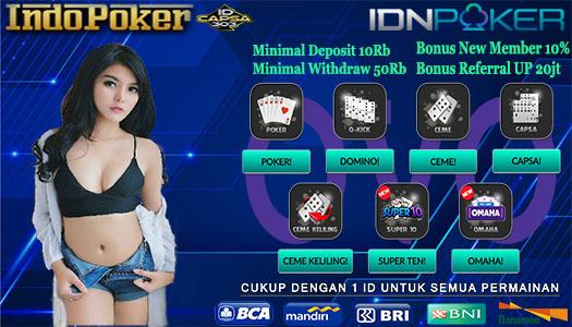 Agen Ceme Online Idnplay Deposit Via OVO