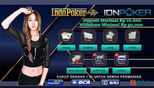 Agen IDNPlay Ceme Online Deposit Termurah