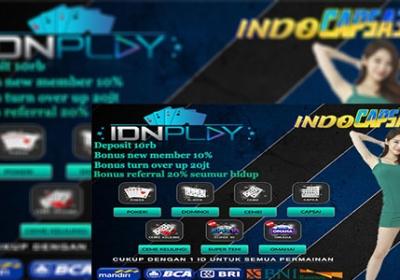 Agen Poker Online IDNPlay Terpercaya